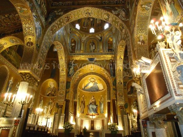 cappella palatina - palermo - sicily