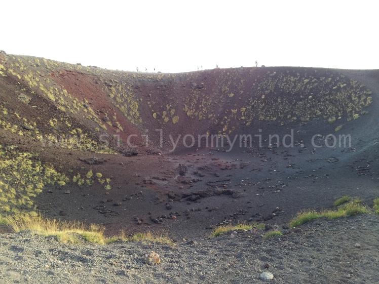etna - crater