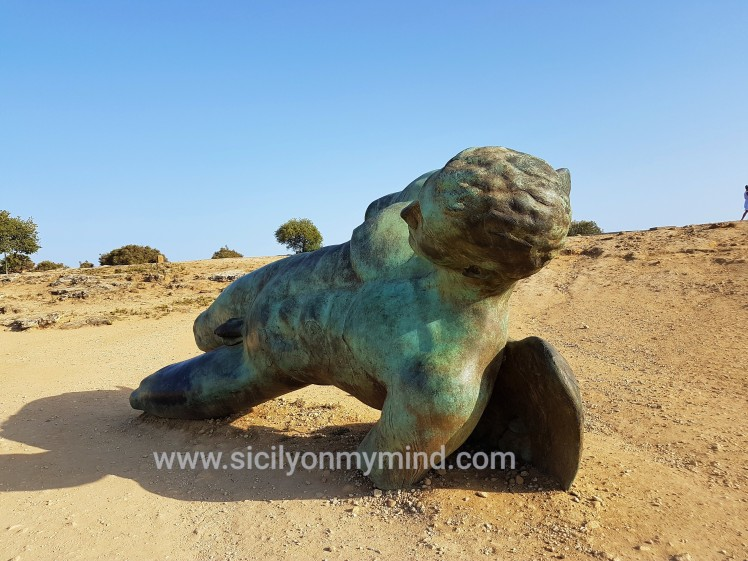 fallen icarus - valley of the temples - agrigento