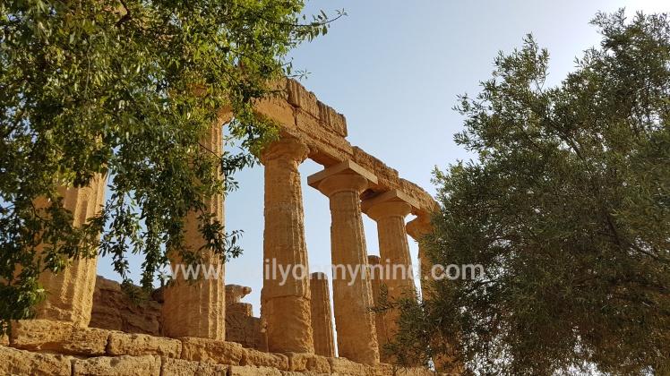 temple of juno - sicily - agrigento