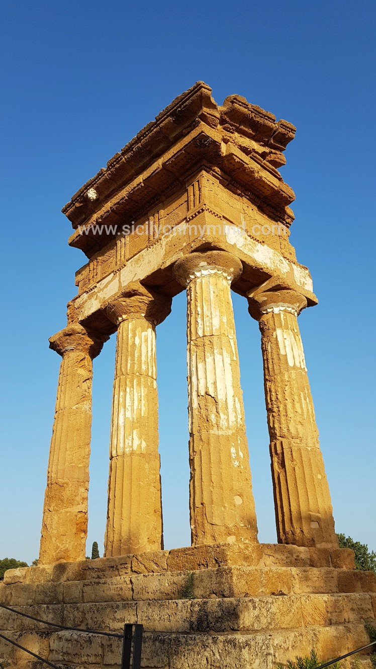 temple of the dioscuri - agrigento - sicily