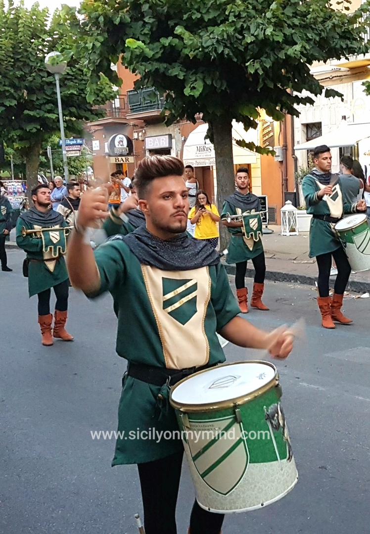palio dei normanni - parade - sicily
