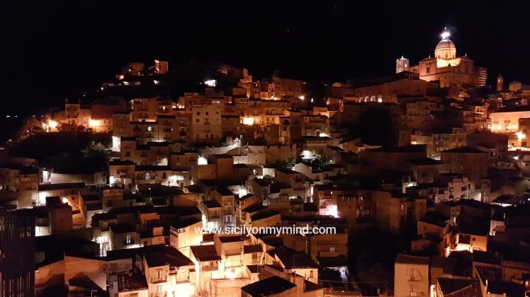 piazza armerina vista notturna